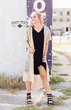 Load image into Gallery viewer, Cream Albuquerque Duster - Sister Tribe Boutique