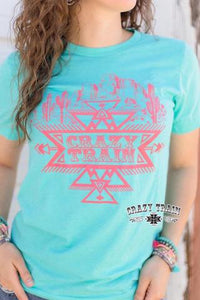Coral Crazy Tee - Sister Tribe Boutique