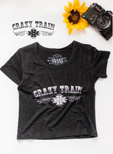 Load image into Gallery viewer, Kids Crazy Train Tee - Sister Tribe Boutique