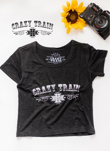 Kids Crazy Train Tee - Sister Tribe Boutique