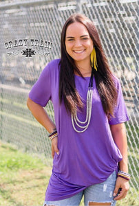 Purple Knotty - Sister Tribe Boutique