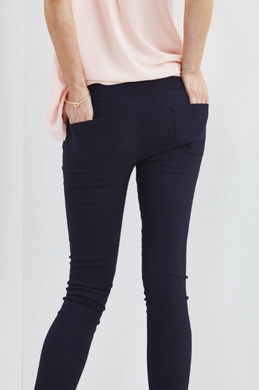 Navy Jeggings - Sister Tribe Boutique