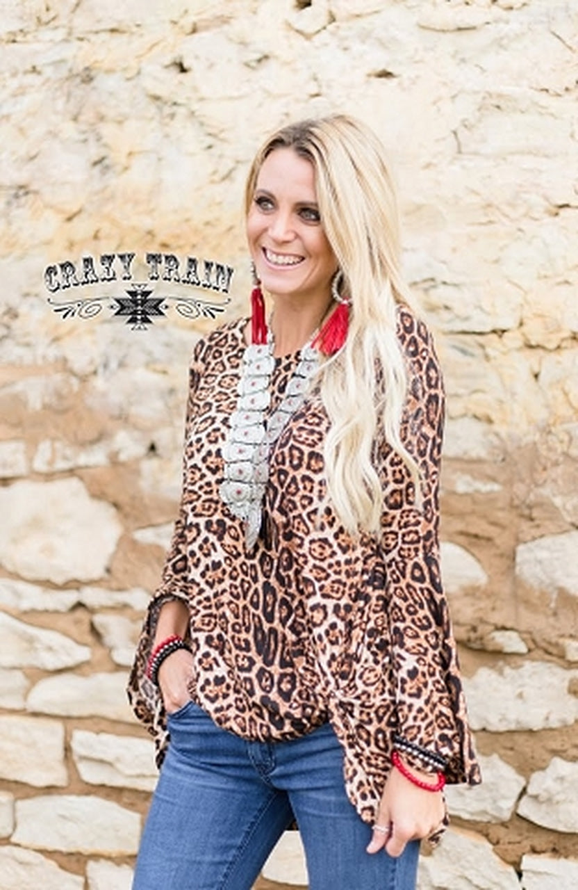 Knot for Long**Leopard - Sister Tribe Boutique