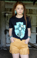 Load image into Gallery viewer, Mustard Fringe Shorts - Sister Tribe Boutique