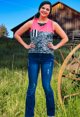 Mississippi Slither Tank - Sister Tribe Boutique