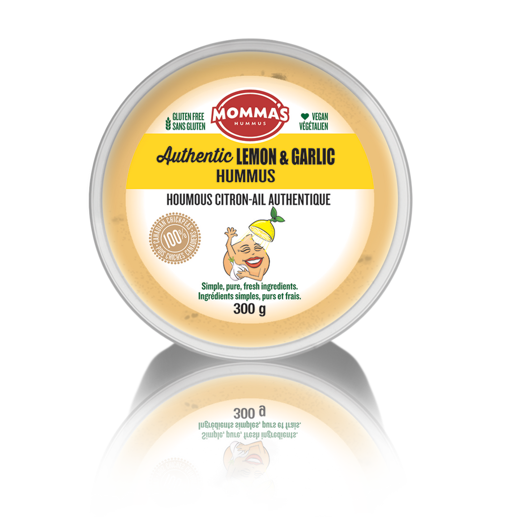 Authentic Lemon & Garlic Hummus