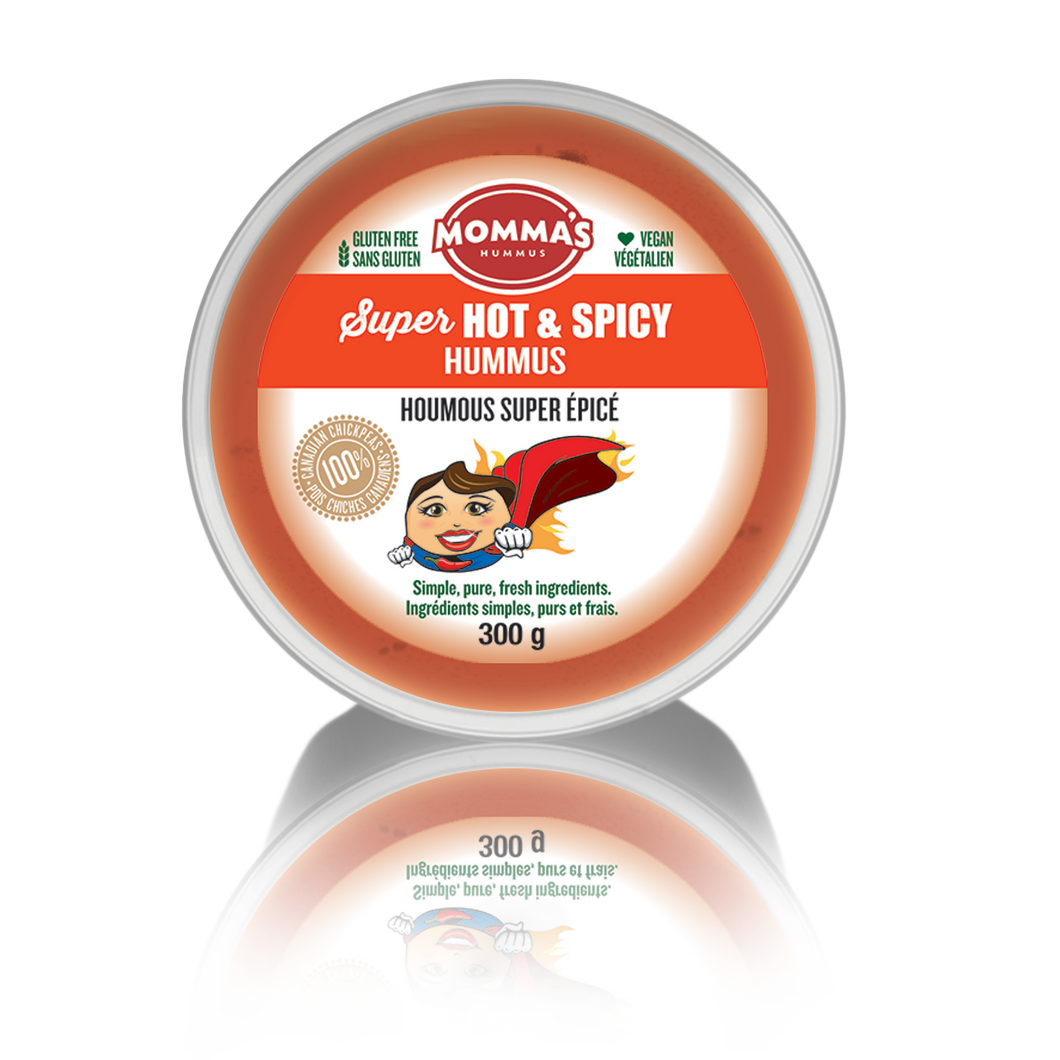 Super Hot & Spicy Hummus