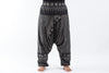 Plus Size Hill Tribe Elephant Women's Elephant Pants in Black