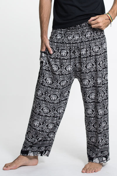 Elephant Deva Tall Harem Pants in Black