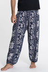 Elephant Orchard Tall Harem Pants in Navy