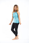 Super Soft Sure Design Women's Tank Tops Turquoise