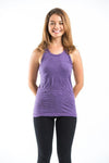 Super Soft Sure Design Women's Tank Tops Purple