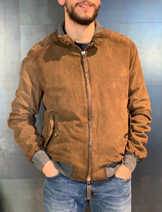 Bomber in pelle - Jack The Leather