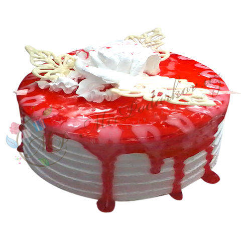 "Cake ""Red Bliss"""