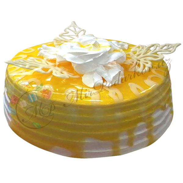 "Cake ""Yellow Bliss"""