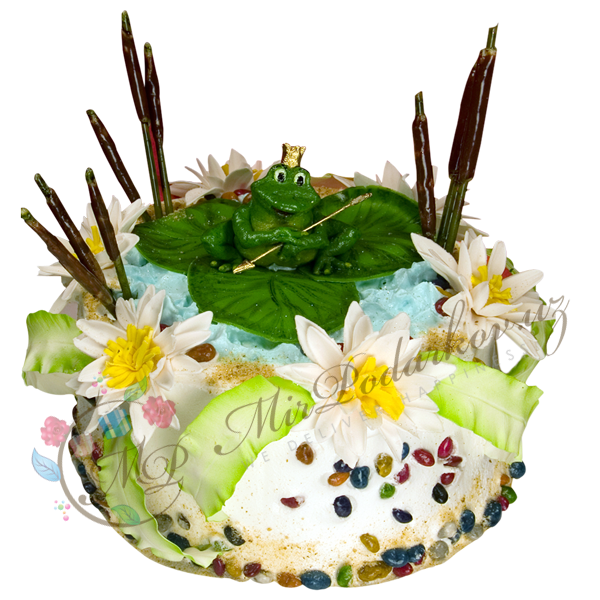 "Cake ""The Frog Princess"""
