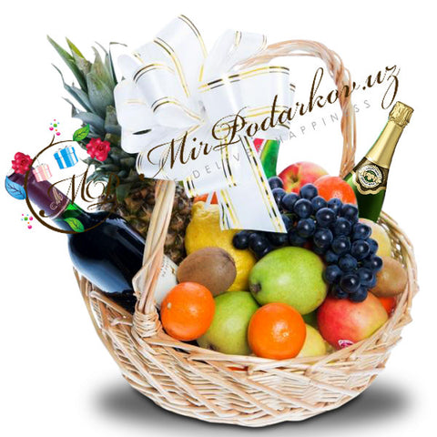 "Fruit Basket ""Holiday Cheer"""