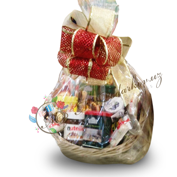 "Gift Basket ""Holiday Happiness"""
