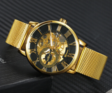 Winner Mesh Luxury Watch