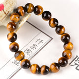Mala Bracelet with Tiger Eye Natural Stones
