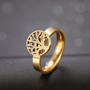 Tree of Life Matte Rings