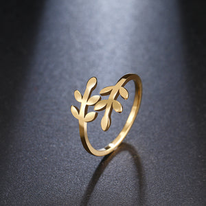 Leaf Designed Ring