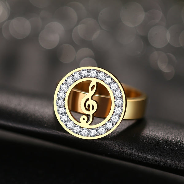G-Clef Note Ring