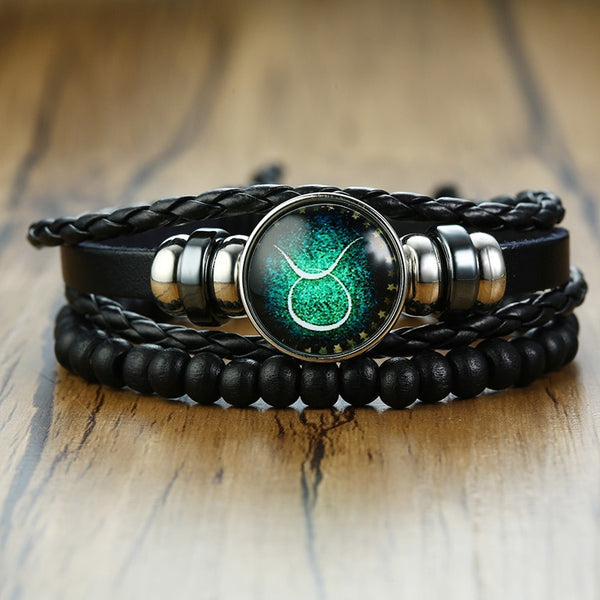 12 Horoscope Multi-layer Bracelet
