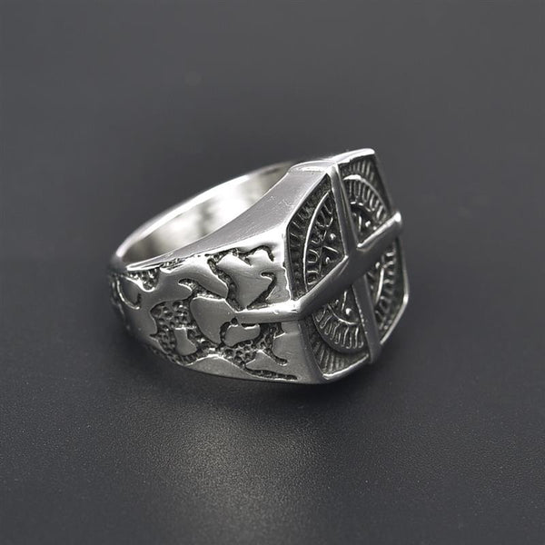 Vintage Compass Style Ring