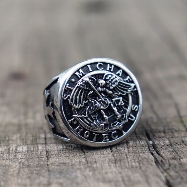 Save and Protect Archangel Ring