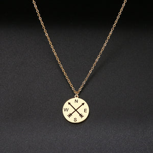 Compass Travel Necklace