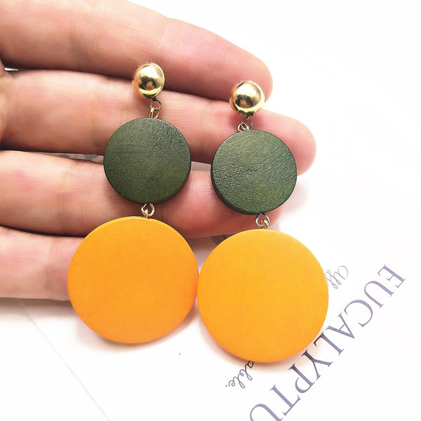 Statement Dangle Drop Earrings