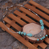 Tibetan Statement Big Stone Necklace