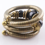 Antique Bronze Snake Chain Bracelet