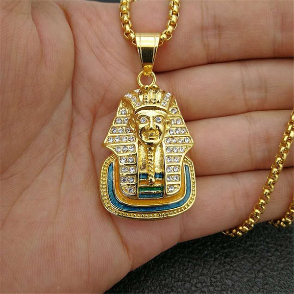 Egypt Pharaoh Sphinx Pendant Necklace