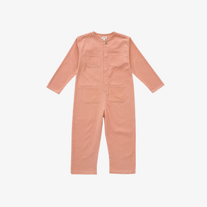 Oeuf Corduroy Worker Jumpsuit in Canyon Sunset