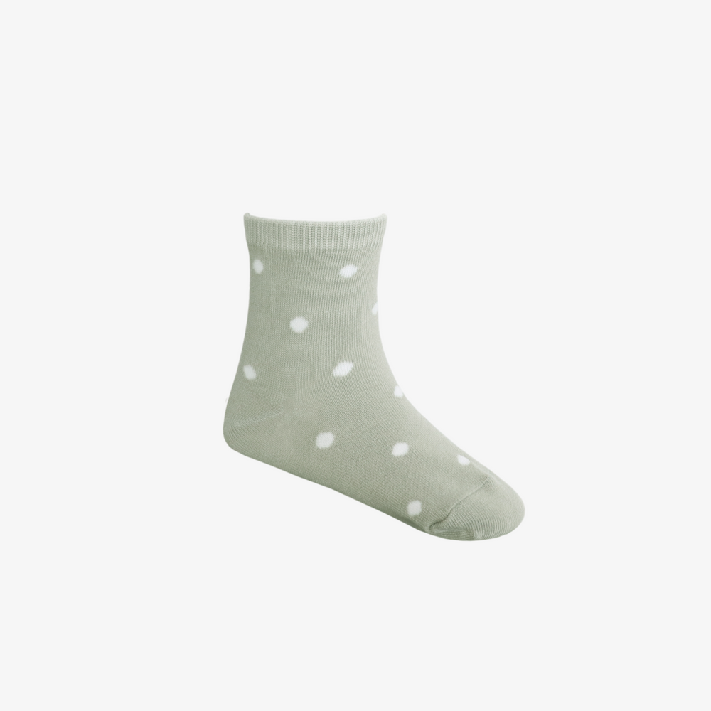 Dotty Sock in Honeydew