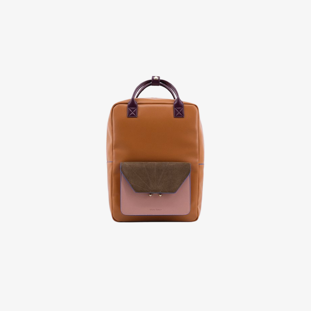 Sticky Sis Club Backpack in Cognac