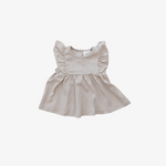 Ash Cotton Ruffle Dress