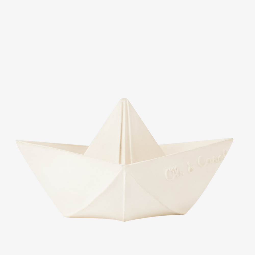 Natural Rubber Origami Boat