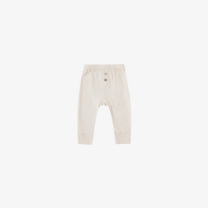 Quincy Mae Pointelle Pajama Pant in Pebble