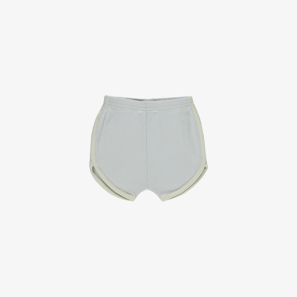 Track Shorts in Cloud/Oatmeal