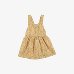 Under the Canopy Organic Woven Pima Dress in Ochre