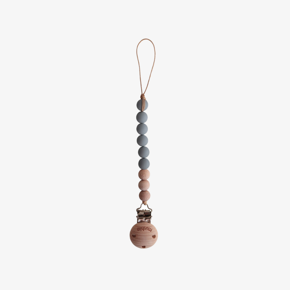 Pacifier Clip - Cleo (stone)