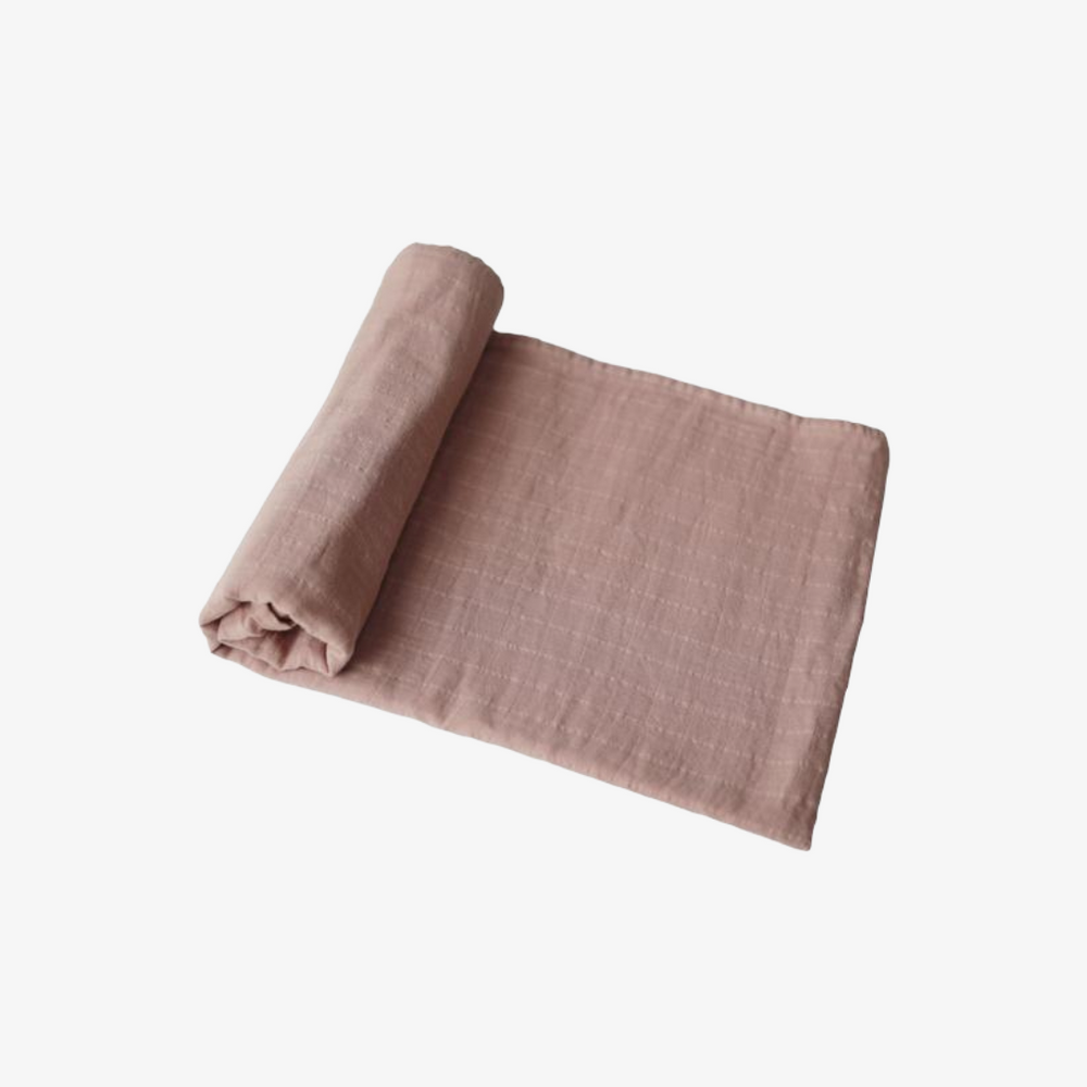 Muslin Swaddle Blanket - Natural