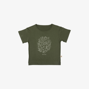 Under the Canopy Organic Pima T-shirt in Chive