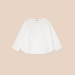 Organic Cotton Placket Top