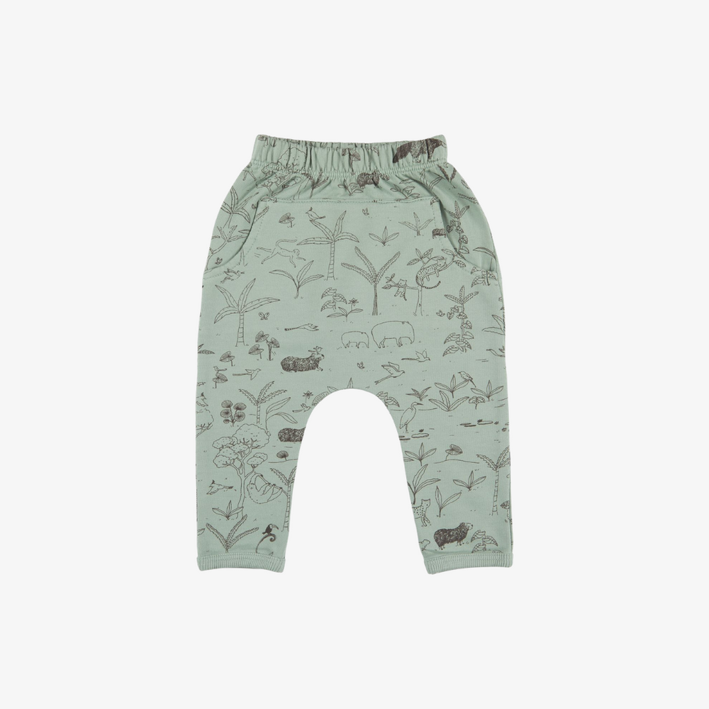 The Story Organic Pima Jogger in Jadeite