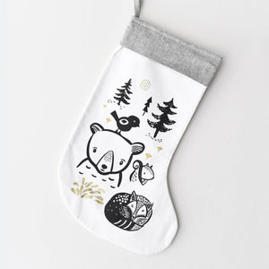 Wee Gallery Bear Friends Festive Stocking