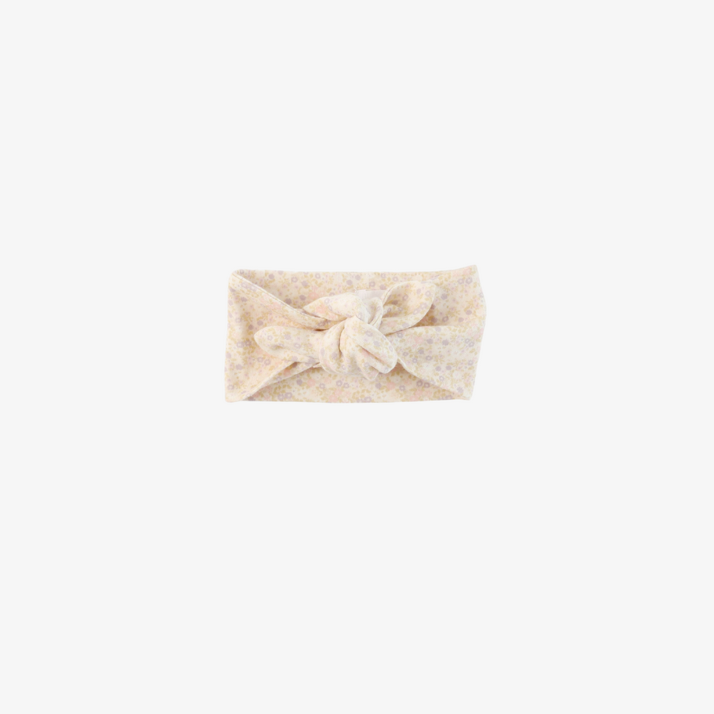 Organic Cotton Baby Headband | Forget Me Not